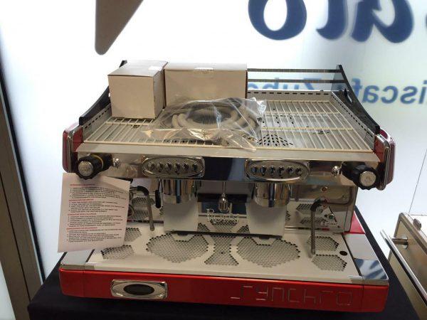 Kaffeemaschine Royal Synchro 14 Liter Tank Espressomaschine 2-gruppig, Eiscafe